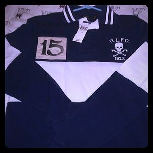 Long sleeve polo shirt rugby Jersey